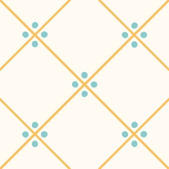 Illustration of tiles textured pattern