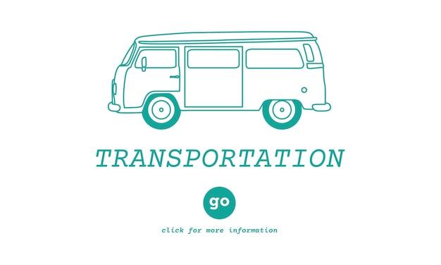 Illustration of transportation