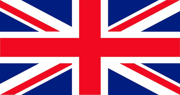 Illustration of uk flag