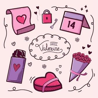 イラストバレンタインデー