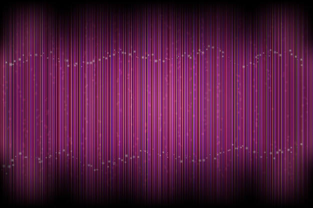 Illustration of vector abstract burgundy linear background with glowing dots