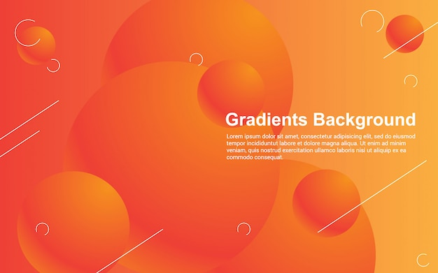 Illustration vector graphic of abstract background gradients color