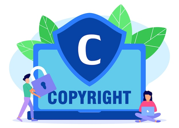 Иллюстрация векторной графики мультипликационный персонаж авторского права