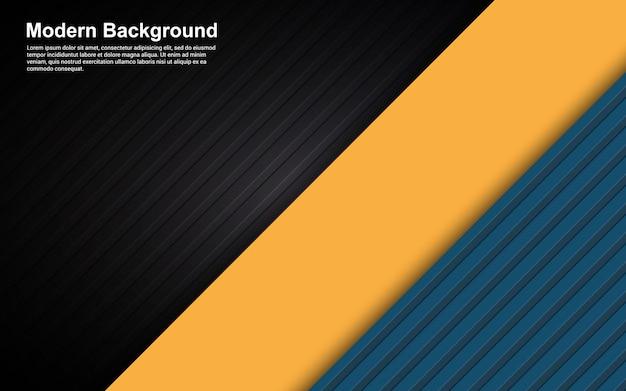 抽象的な背景の黒と流行に敏感なグラデーションカラーのイラストベクターグラフィック