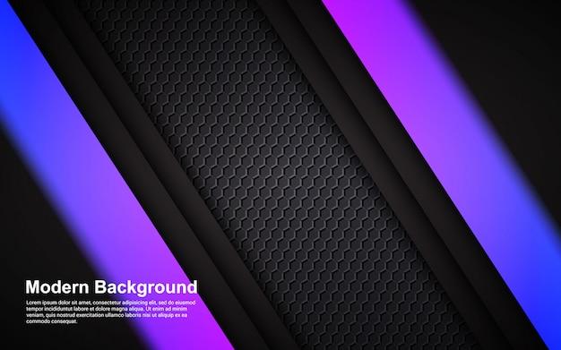 抽象的な背景のヒップスターグラデーションカラーのイラストベクターグラフィック