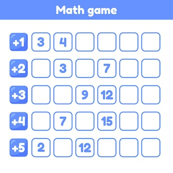 Illustration. what is misssing number. worksheet for kids kindergarten. preschool and school age. numeric sequence.