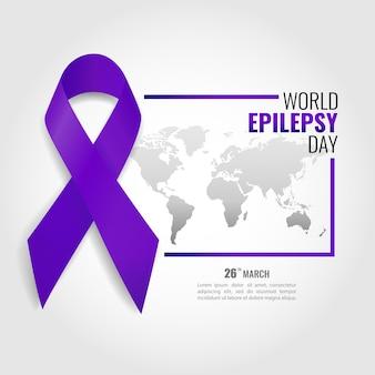 Illustration of world epilepsy day