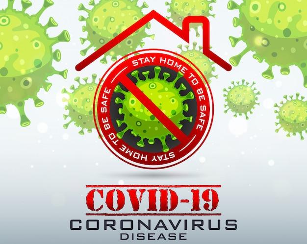 Illustrations concept coronavirus disease covid-19