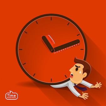 Illustrations concept time managemnet
