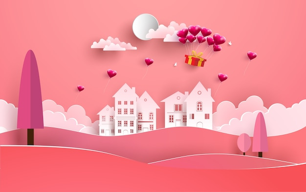 사랑과 발렌타인 데이 삽화