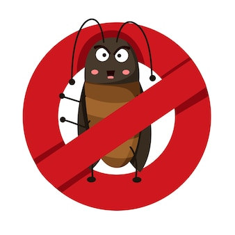 Illustrator of anti cockroach