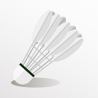 Illustrator of badminton shuttlecock