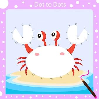Illustrator of dot to dots worksheet two
