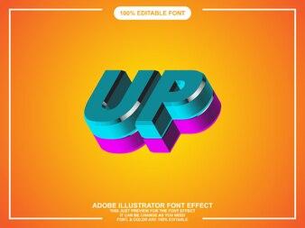 Illustrator graphic style editable typography
