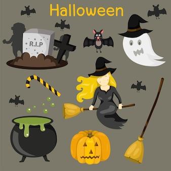 Illustrator of halloween