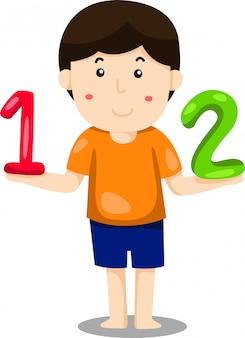 Иллюстратор мальчика 123