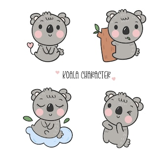 Illustrator of Koala cartoon