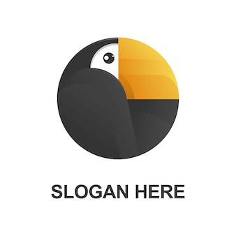 イラストレーターオオハシのロゴデザイン