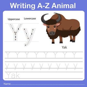 Illustrator of writing az animal xerus