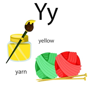 Illustrator of y vocabulary