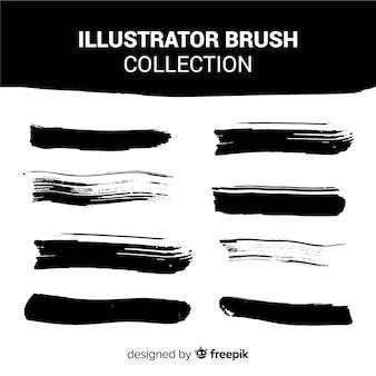 Коллекция кистей illustrator