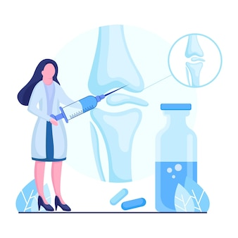 Ilustration design for arthritis research