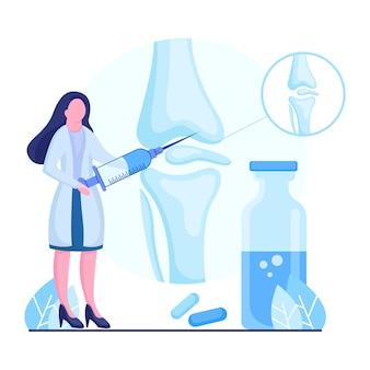 Дизайн иллюстрации для исследования артрита