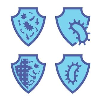 면역 가드 건강한 박테리아 바이러스 보호 바이러스 차단 항균 보호