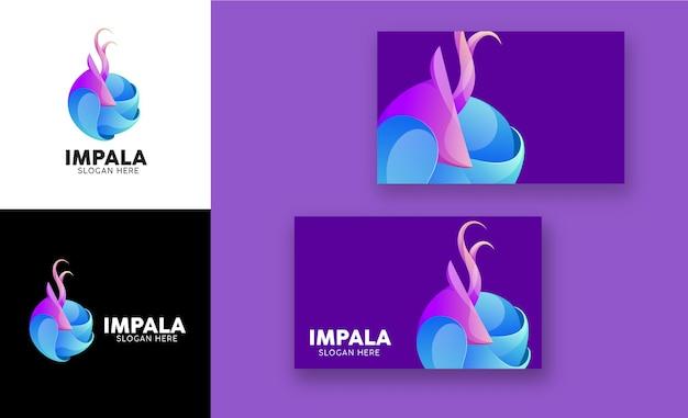 Impala gradient modern logo