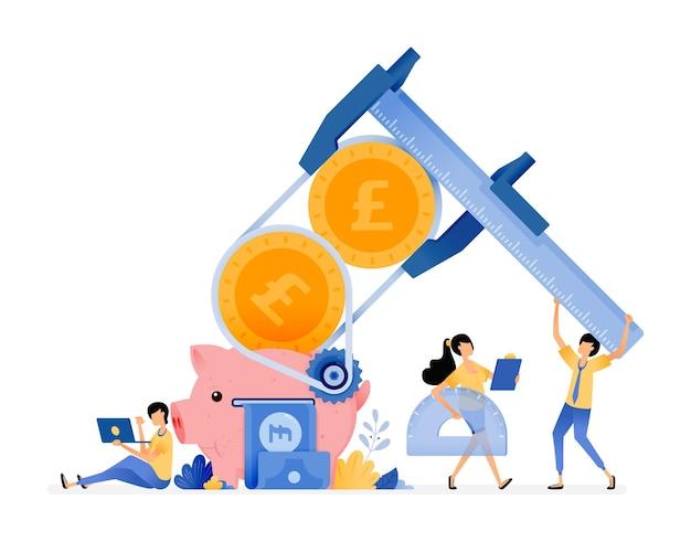 재정 관리에서 행동 문해력 향상