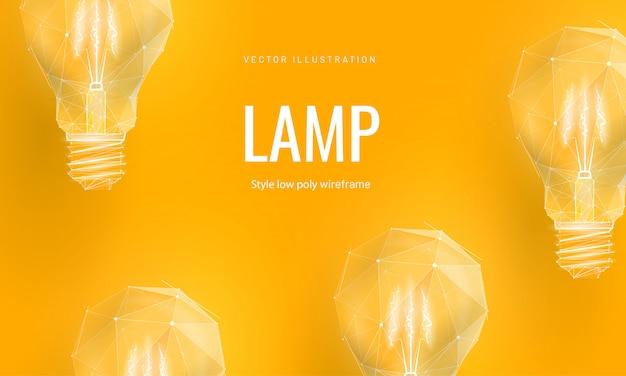 Лампа накаливания для запуска или образования или творческой идеи