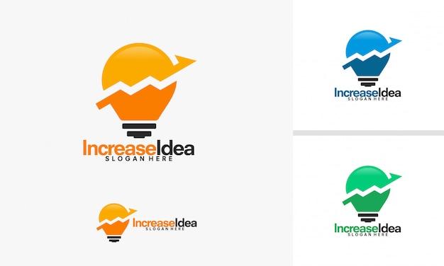 Increase idea logo designs