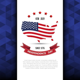 Independce day design element