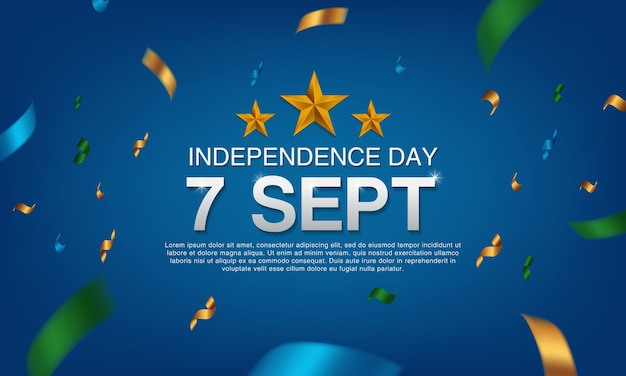 Independence day 7 sept