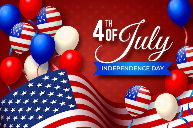 Independence day background design