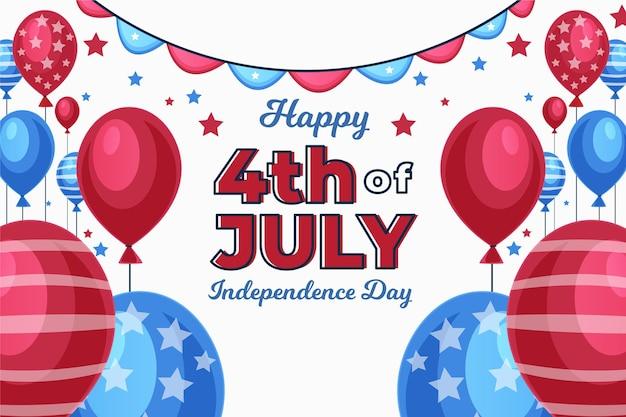 独立記念日の背景テーマ