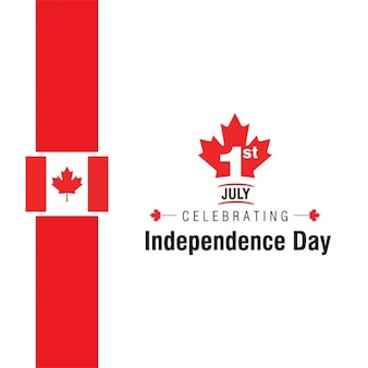 Independence day canada background