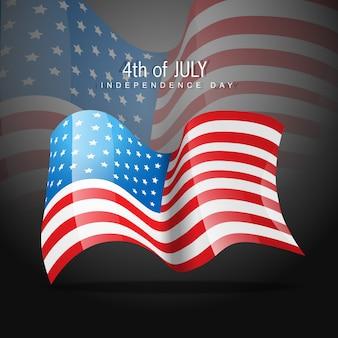 Stile americano di indipendenza di giorno di indipendenza