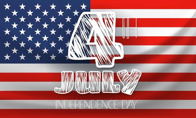 День независимости приветствие фон