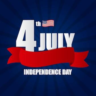 День независимости в сша Premium векторы