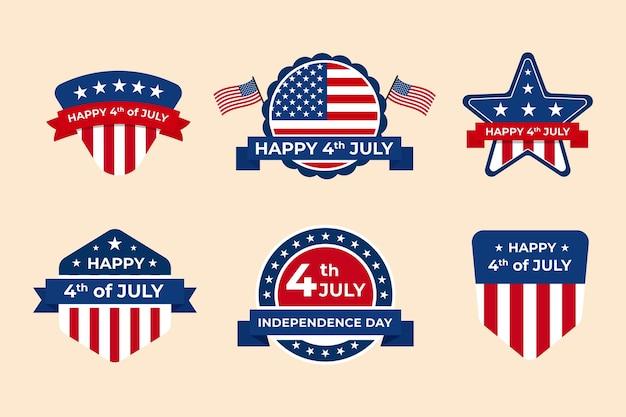 День независимости коллекция этикеток