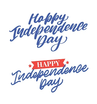 День независимости набор надписи