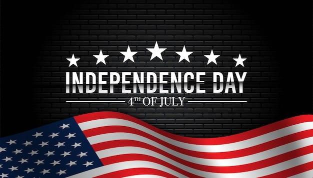 미국 독립 기념일 배경입니다.