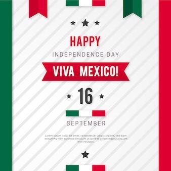 メキシコの概念の独立記念日
