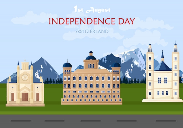 Independence day in switzerland