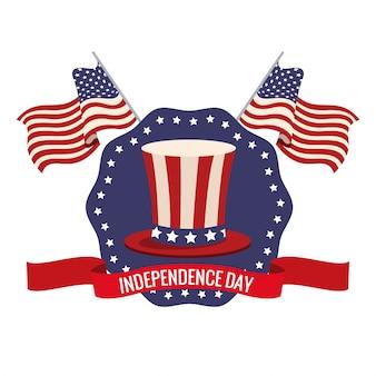 Independence day usa celebration patriotic