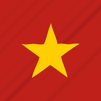 Independence day of vietnam icon illustration design