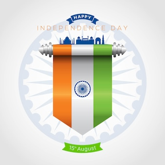 India independence day greeting card