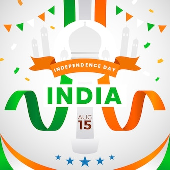 India independence day illustration