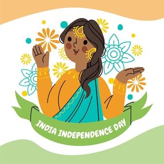 인도 독립 기념일 그림